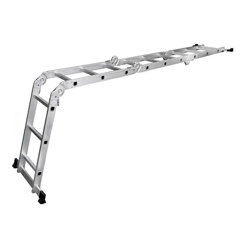 Escada Multifuncional 4x3 Alumínio 12 Degraus 3,26m Starfer