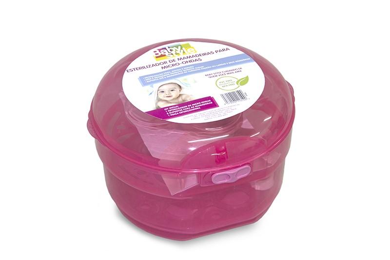 Esterilizador De Mamadeiras Para Microondas Baby Style