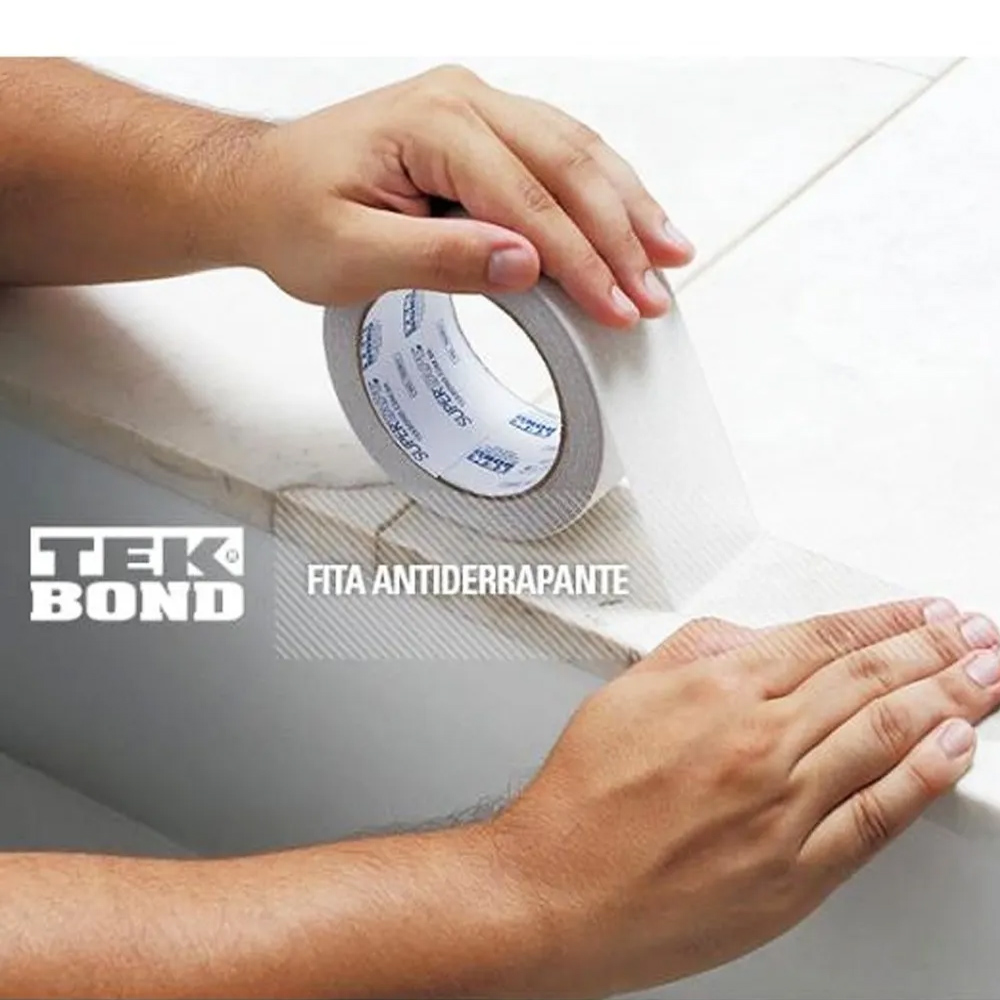 Fita Antiderrapante Transparente 50x5 Tekbond