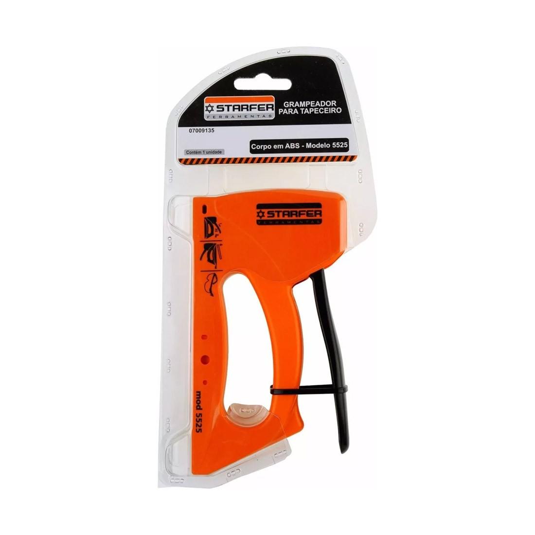 Grampeador Tapeceiro ABS 5525 - Starfer