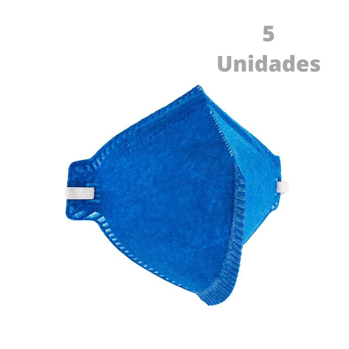 Kit 5 Peças Máscara Respiratória S/ Válvula PFF2 Delta Plus