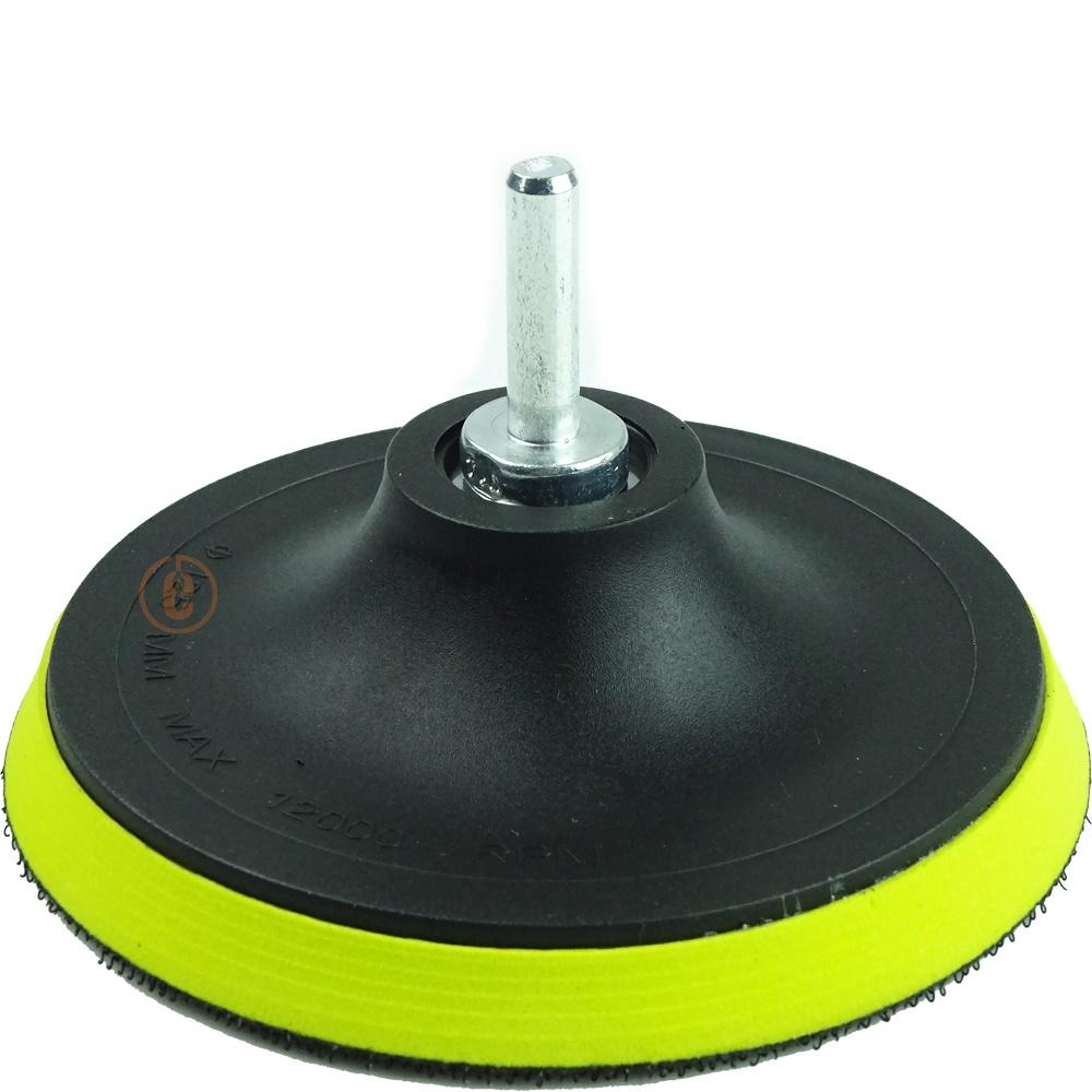 Kit Base Disco de Lixa com 10 Disco de Lixa Branco 150mm Grão 100