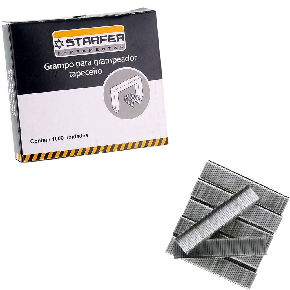Kit Grampeador Tapeceiro ABS 5525 + 1000 Grampos 10.6/6mm Starfer