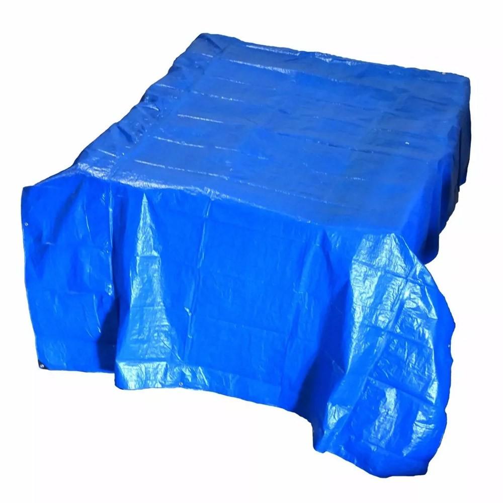 Lona Azul 3x3m Multi Uso 75g/m Impermeável Uv - Starfer
