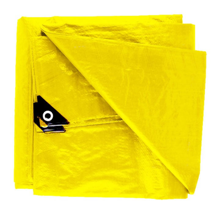 Lona Leve 75g/m 7x4 metros amarela Starfer