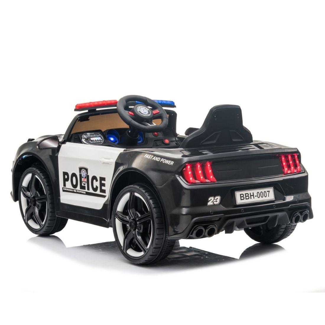 Mini Veículo Carro Motor Elétrico Infantil Bateria Polícia