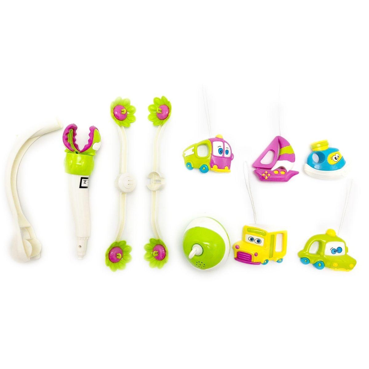 Mobile eletrônico plástico carrinhos Infantil musical - baby Style
