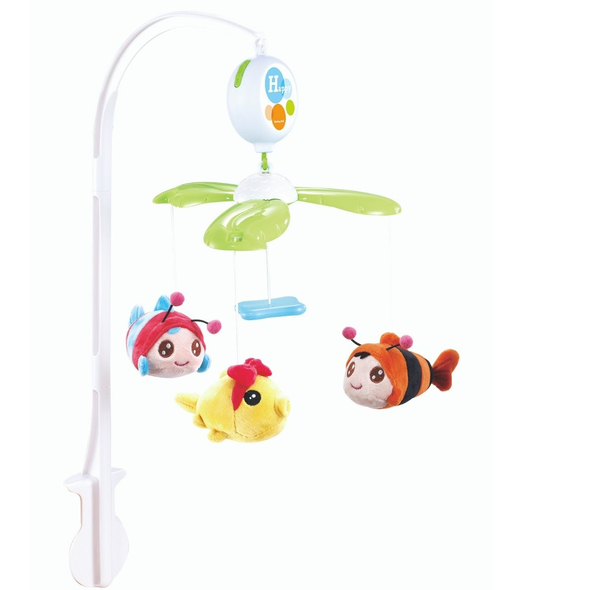 Mobile Eletrônico plush peixinho Infantil musical - Baby Style