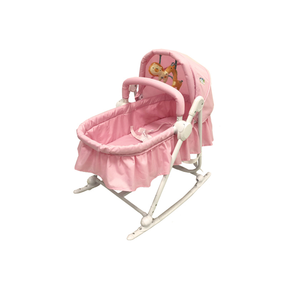 Moisés Bercinho Cadeira Descanso Sonequinha Baby Style Rosa