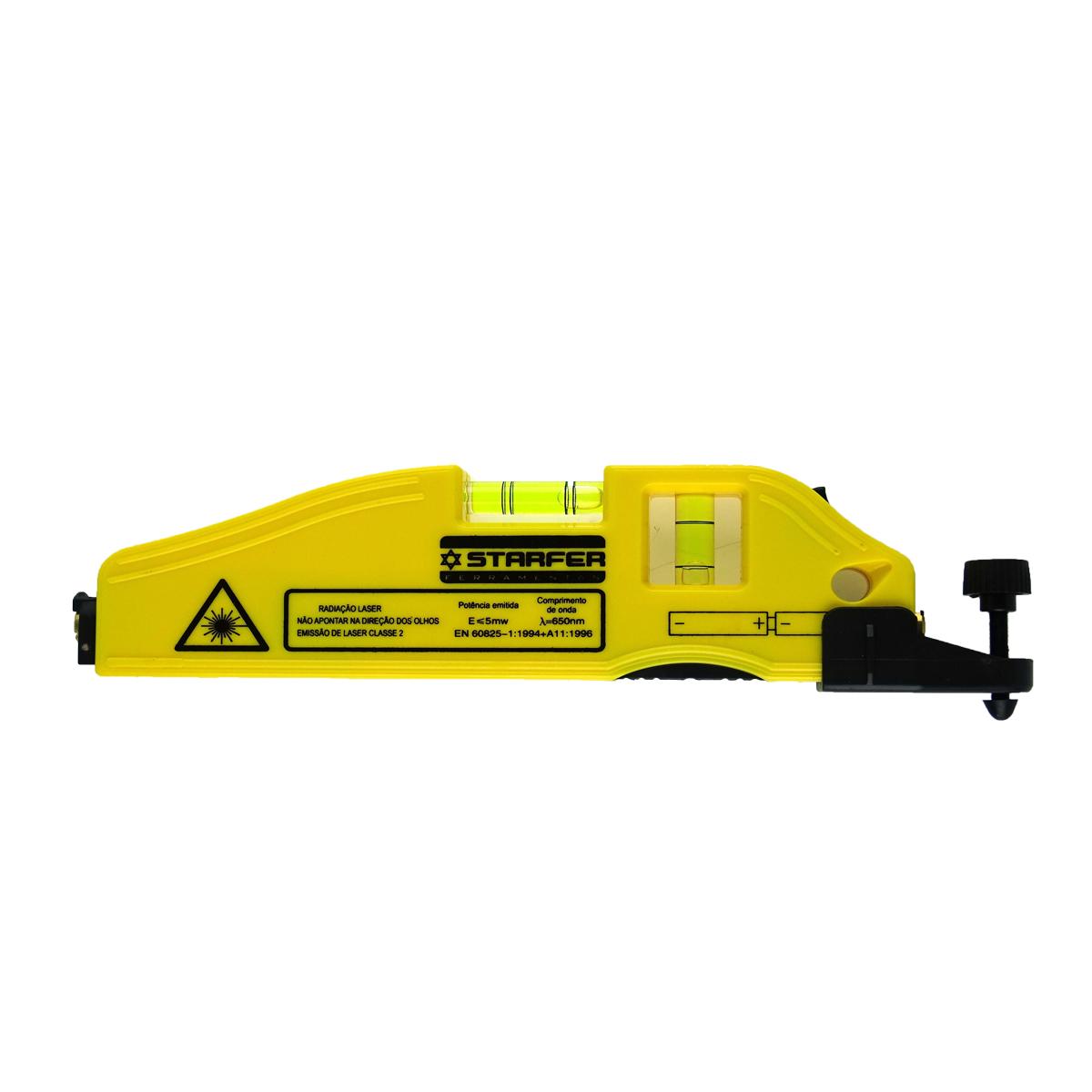 Nível Laser Cruz à Pilha Ponto 30-50 m e Cruz 3-5 m - Starfer