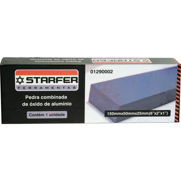 Pedra Combinada Starfer Oxido De Aluminio 8 Pol.