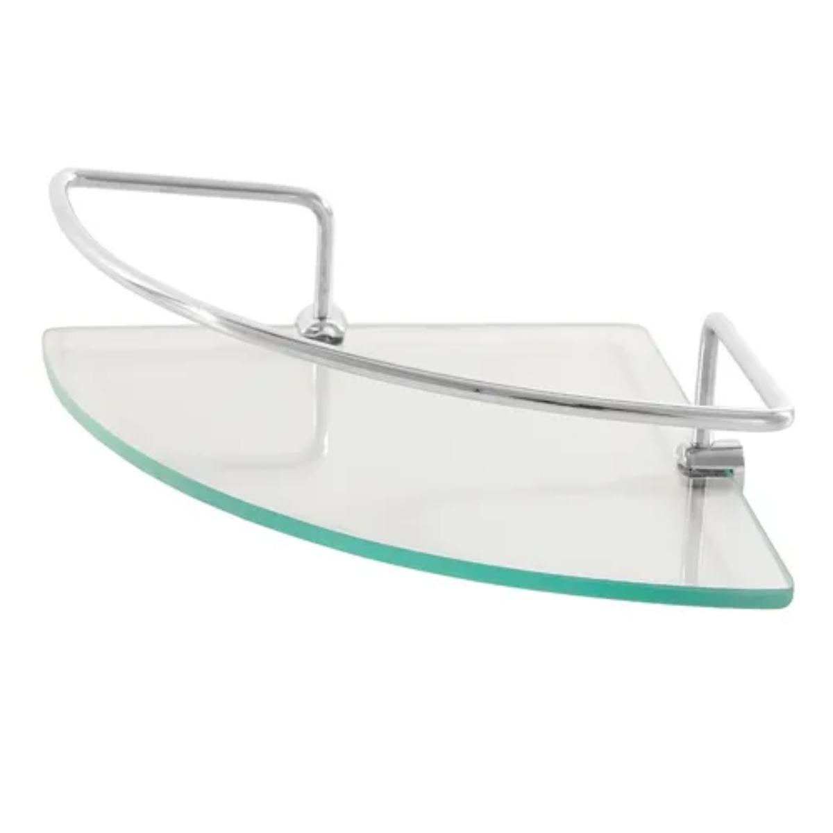 Porta shampoo canto de vidro hidrolar