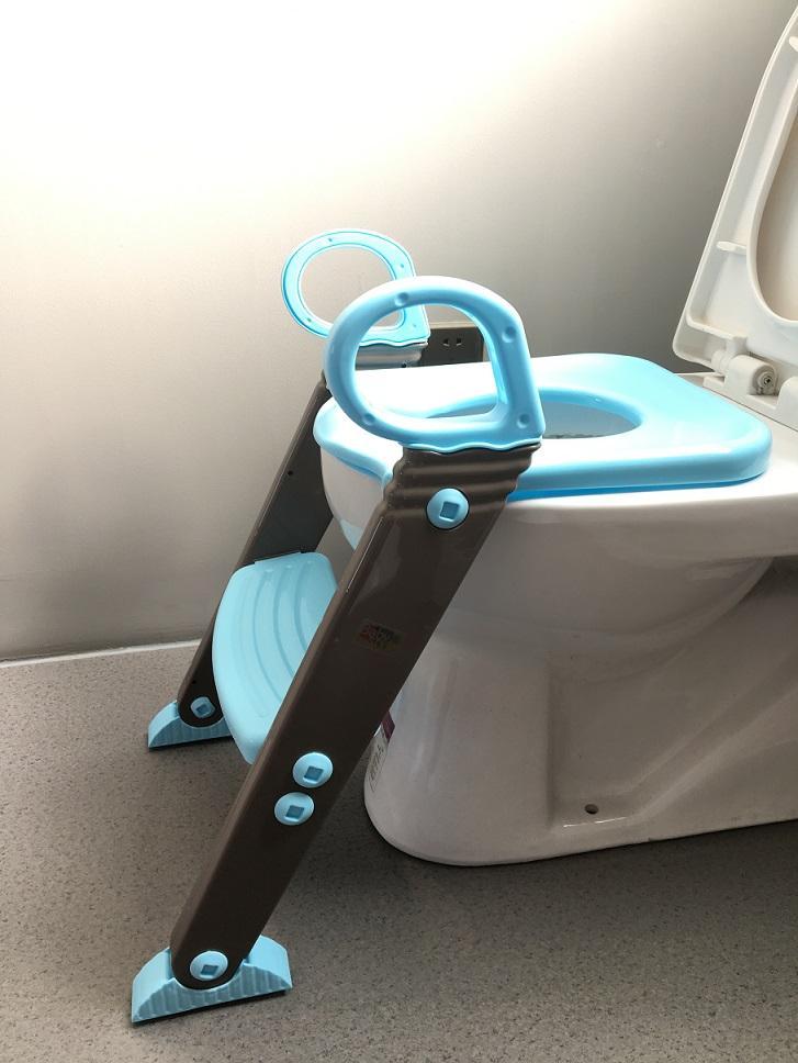 Redutor Assento Sanitário Infantil Com Escadinha Baby Style