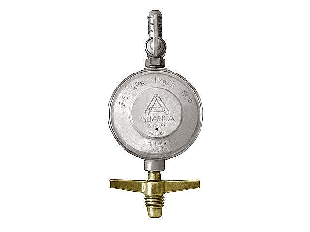 Regulador Registro de gás Aliança 504/01 BT