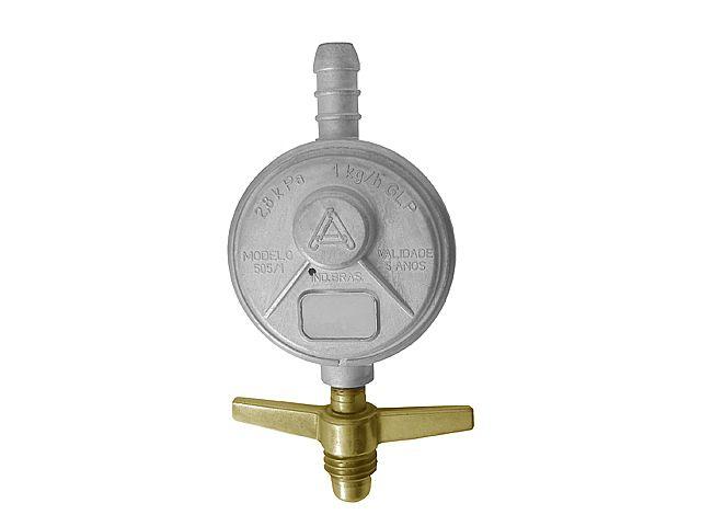 Regulador Válvula Registro de Gás Aliança 505/01