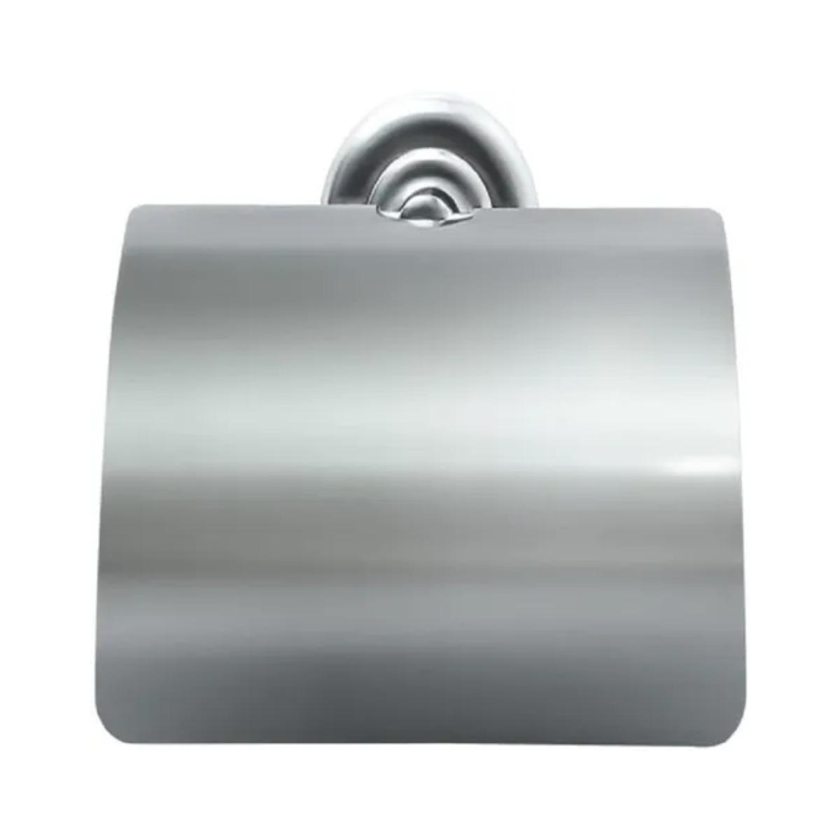 Suporte porta papel higiênico com tampa Hidrolar