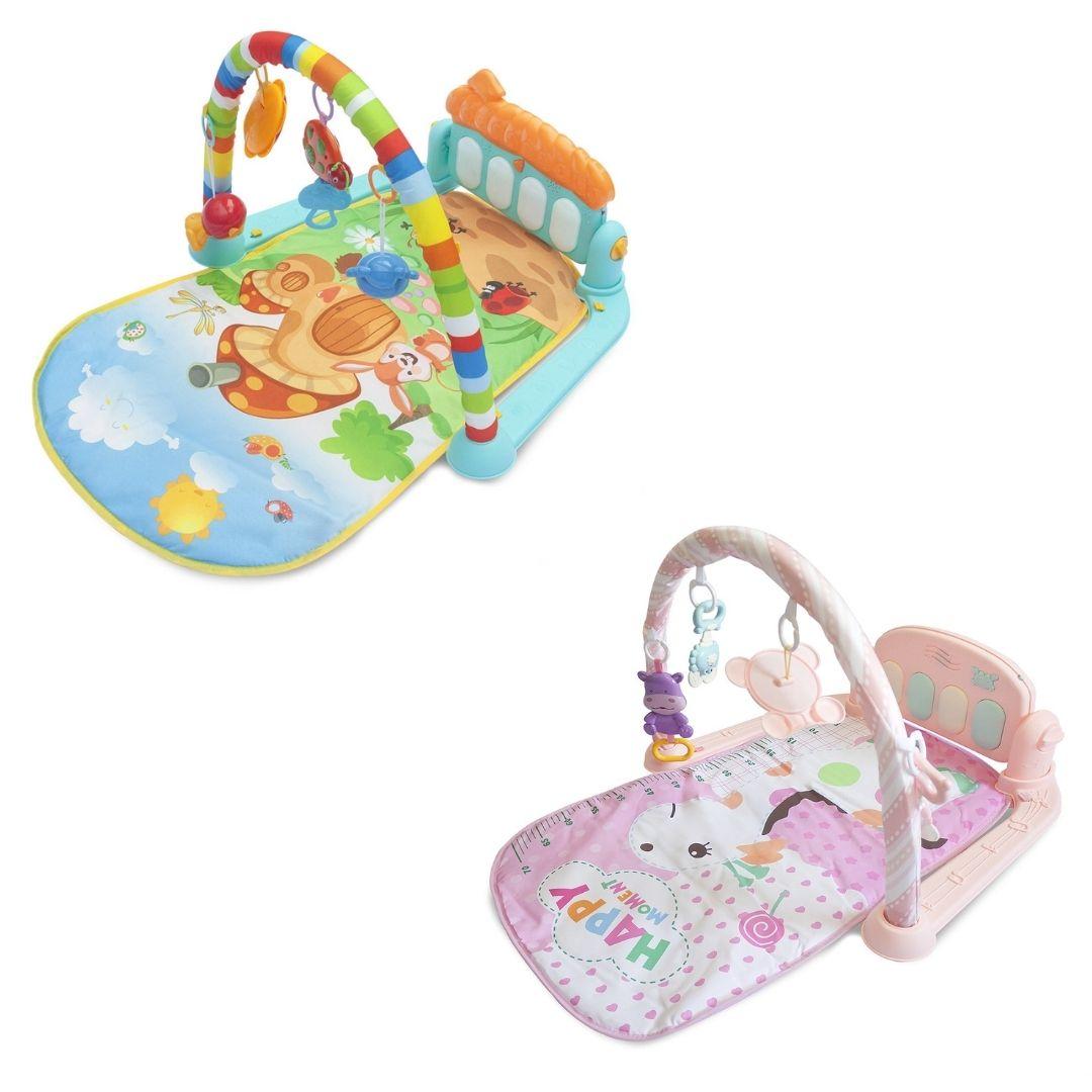 Tapete Bebê Pianinho Mobile Musical Melodia Baby Style