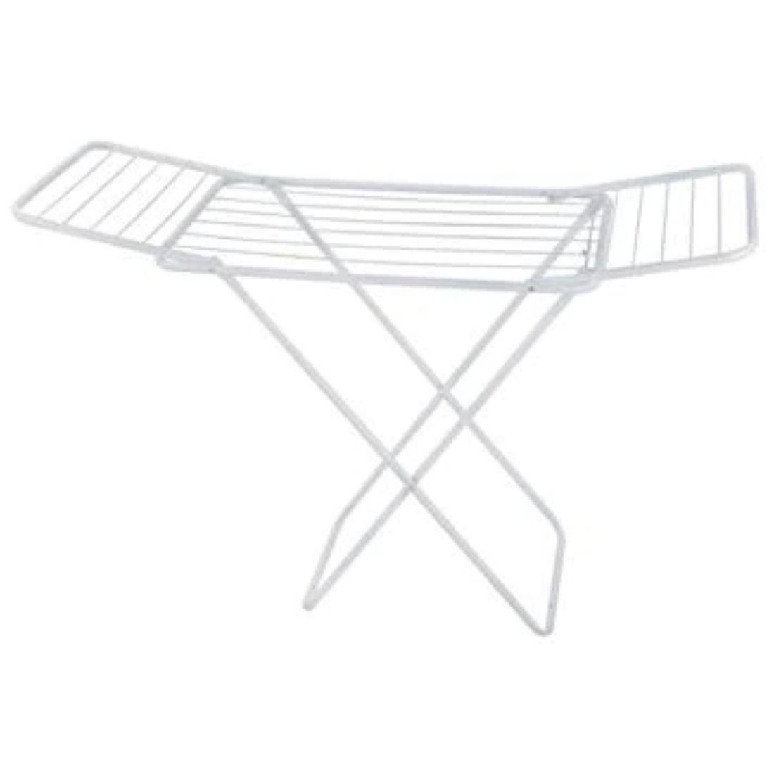 Varal de Chão Dobrável com Abas 1,40 Branco