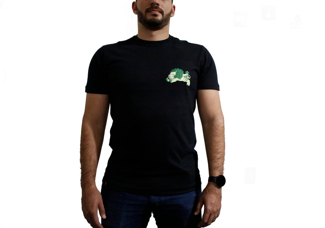 Camiseta Puff Lion