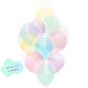 Balão 10 Balloontech Candy Colors Double Mix c/ 10
