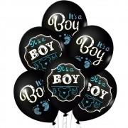 Balão 9' It's a Boy para Chá de Bebê c/12unid