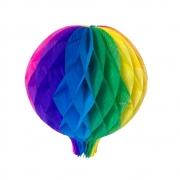 Balão Junino Arco Iris 25cm