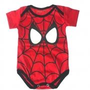 Body Homem Aranha Bebê