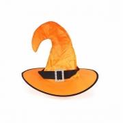 Chapéu de Bruxa Poliester com Fivela