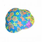 Chapéu Plástico Coquinho Neon Estampado