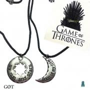 Colar Duplo Game of Thrones