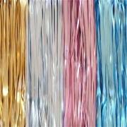 Cortina Metalizada Fosca 1,00m x 2,00m