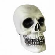 Crânio Decorativo Halloween 20cm