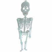 Enfeite Decorativo Esqueleto Neon 90cm
