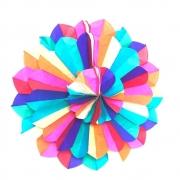 Enfeite Decorativo Junino Flor 60cm