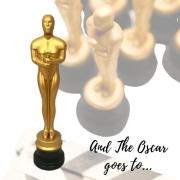 Enfeite Estatueta Oscar 40cm