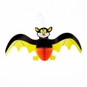 Enfeite Halloween Morcego Amarelo Xy2