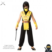 Fantasia Ninja Fighter infantil Longa