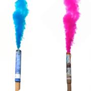 Fumaça Colorida para Chá de Revelação