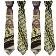 Gravata Cartonagem Dolar com 10