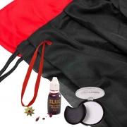 Kit Conde Drácula (Capa, Colar, Pancake e Sangue)