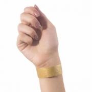 Kit Pulseira de Identificação c/100 - Dourado
