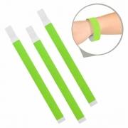 Kit Pulseira de Identificação c/100 - Verde Claro