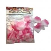 Pétalas de Rosa Decorativas Tecido
