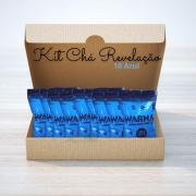 Pó Colorido para Chá de Revelação c/10 Azul