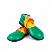 Sapato de Palhaço Bico Redondo - Tam Único