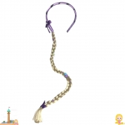 Tiara Trança Rapunzel 75 cm