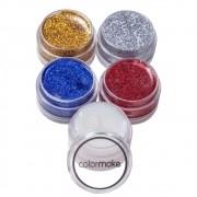 Tinta para Rosto Glitter Cremoso 5 cores