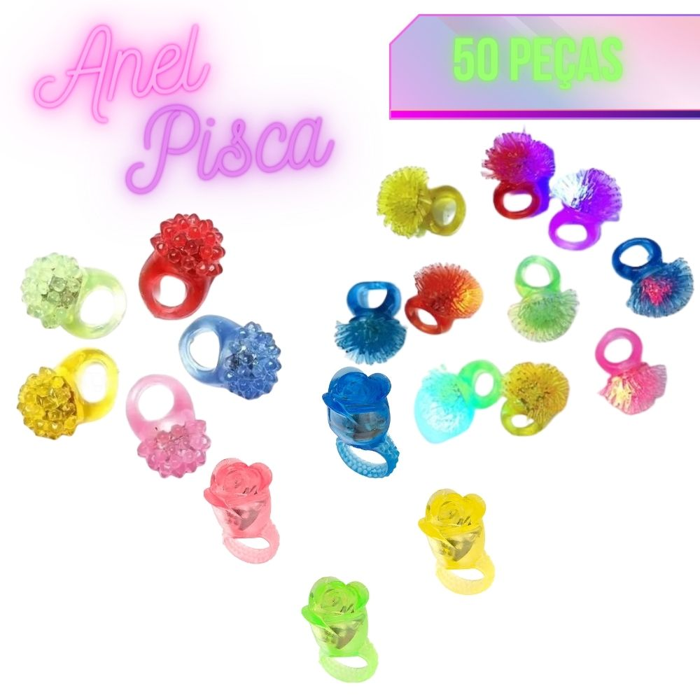 Anel Pisca c/50 (Sortidos)