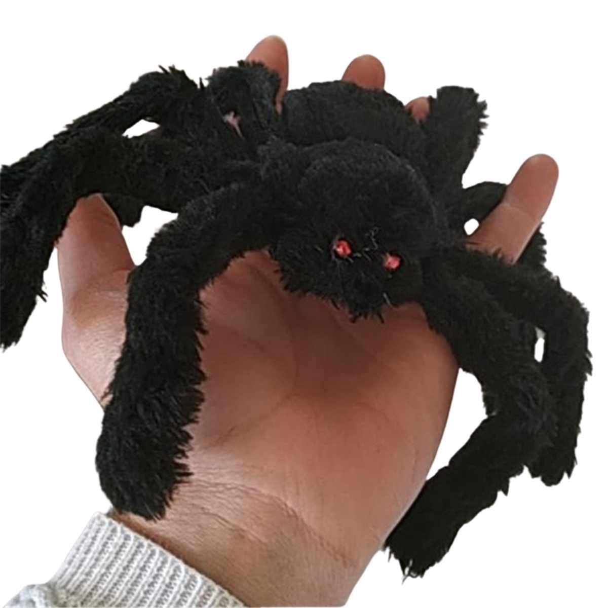 Aranha Peluciada Halloween 30cm