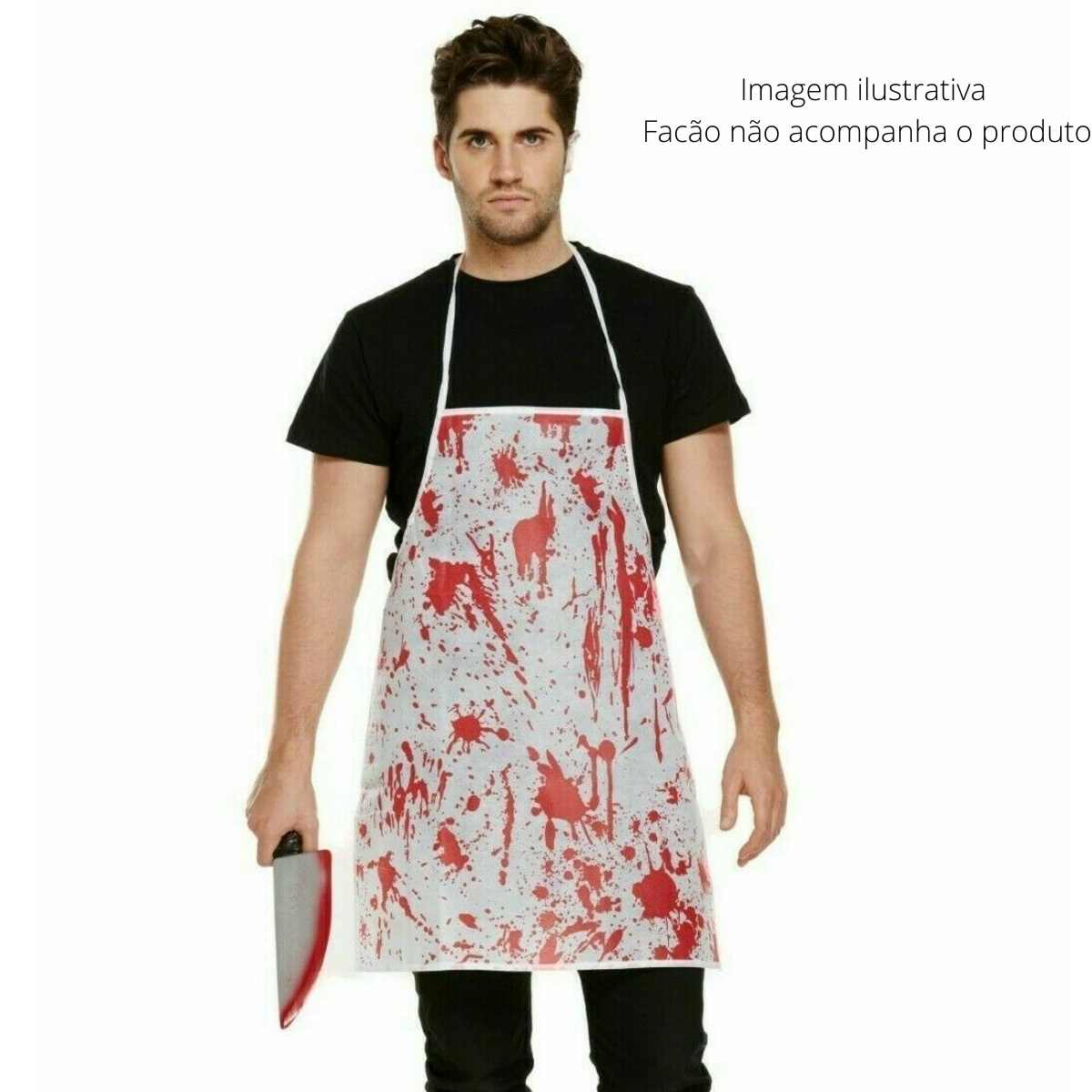 Avental Sangue Halloween